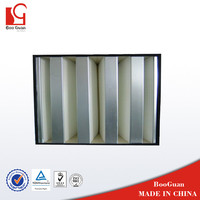 gas turbine 1micron air handling unit hepa air filter