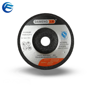 "4"" INOX Brown alumina abrasive grinding wheel"