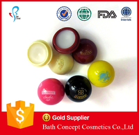 OEM Colorful Round Ball Lip Balm 7g