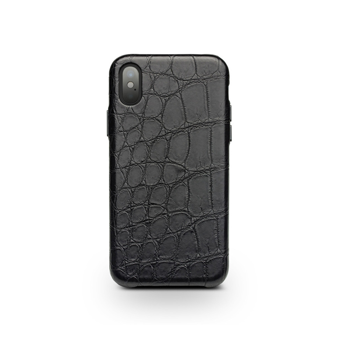Handmade Real Alligator Leather Phone Case