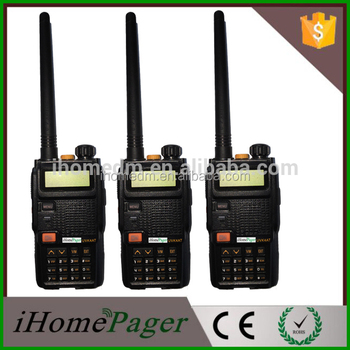 Long range powerful professional walkie talkie