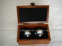 Chroming Health Balls With Wooden Box
