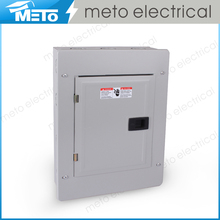 METO Superior Single phase electric load centers/economy circuit breaker/squared panels