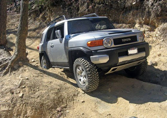 Toyota FJ Cruiser - in Africa!