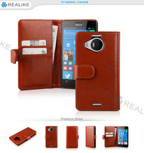 For Nokia lumia 950 flip leather mobile phone case, cell phone cover for nokia