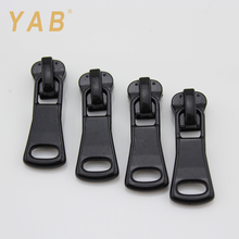 YAB Asian Products Home Textile Locking Regular Long Plastic Material Zipper Pull