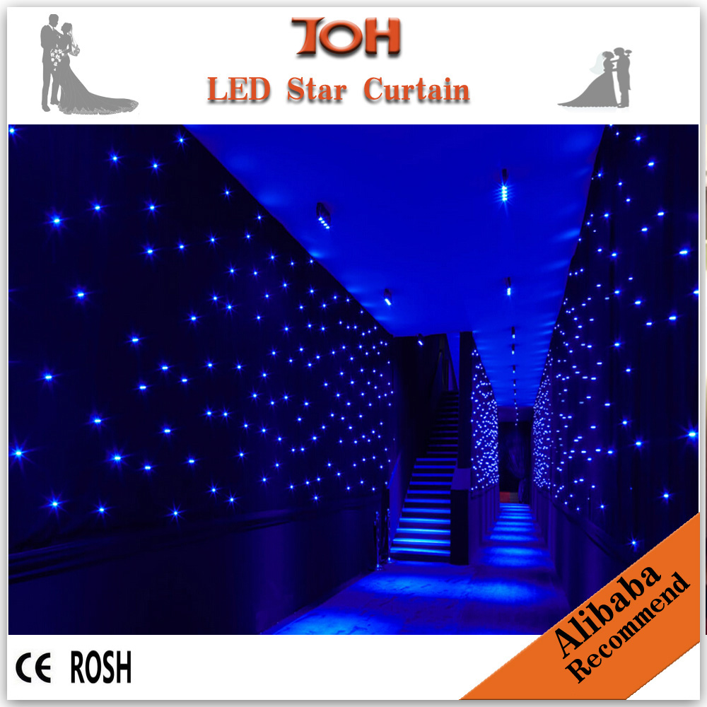 Led curtain concert - Cheap China Strong Led Strong Star Strong Cloth