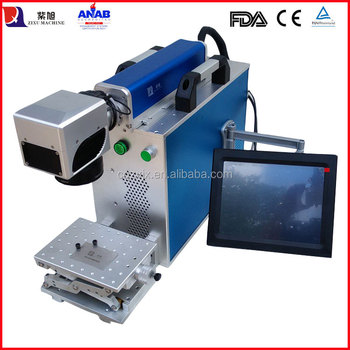 Small Dog Tag Laser Engraving Machine for Metal