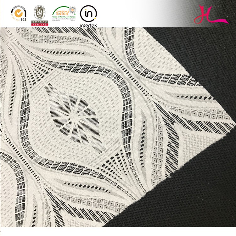 2017 Hot Selling nylon spandex african french fabric lace for garment