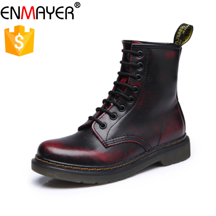 Fashion lover boots shoes women and men nonsexual martin boots plus size 44 leather boots