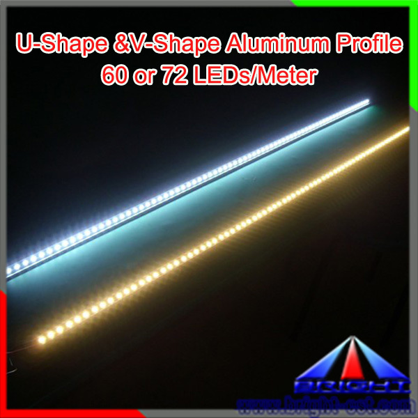 12v 5050 smd led rigid strip factory 14.4w/m aluminium rigid led module 3528/5050 smd led light bar300 led