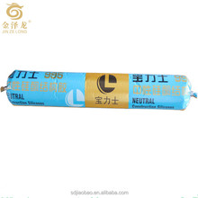 One component Cold resistant heat resistant corrosion resistant Neutral Constrution silicone For Filling of doors windows