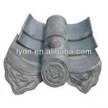 Antique roofing material ,Blue glazed tiles New material Chinese style metal roof tile roof tile