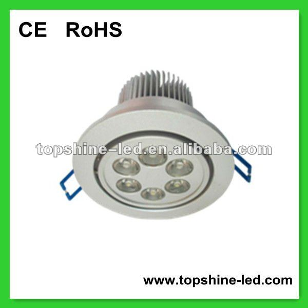 High power 6W LED ceiling lights residential lighting led down lamps