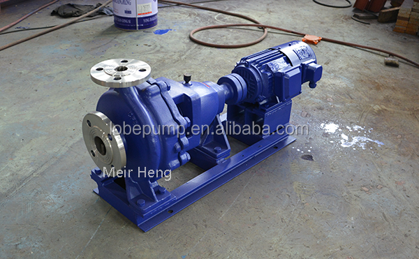 IH axial suction single stage centrifugal pump anti-corrosive industrial centrifugal pump
