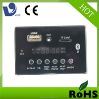 Vire bluetooth mp3 player module tf mp3 player fm radio tuner bluetooth circuit pcba