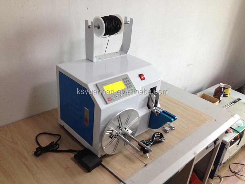cable winding equipment/ Automatic wire coiling winding / twisting / binding / tie machine