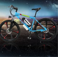 350W motor electric Integrated wheel mountain bike