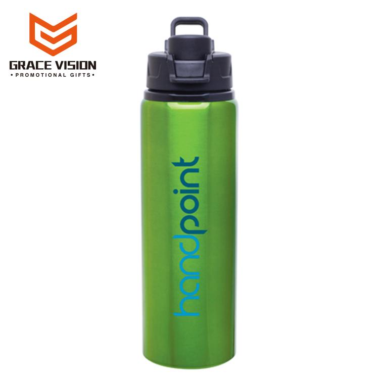 Outdoor Sport Cycling Camping 400ML Promotion Aluminium Sport Water Bottles With Lid