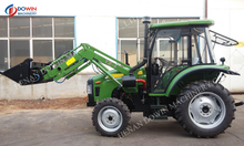 Hot selling 45HP 4WD Tractor with TZ-5 Front end loader and LW-7 Backhoe