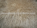 High Pile Hair Plush Knitted Faux Fur Fabric