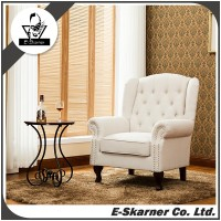E-Skarner 2016 wholesale low price leather material single sofa furniture