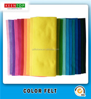 SGS DIY handcraft soft non woven color polyester felt