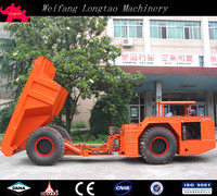China articulated underground mining 8 ton transport dump truck with CE Approved