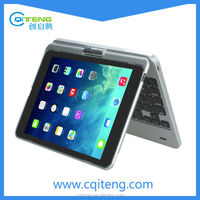 Wireless Bluetooth Adjustable Aluminum Keyboard Case For Ipad