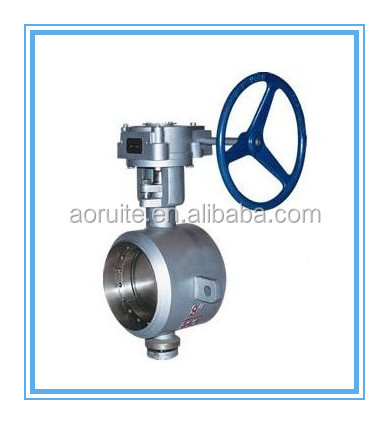 Triple Eccentric Weld Joint Metal Hard-sealing Butterfly Valve