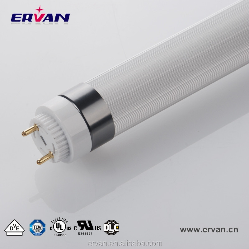 Large supply CE IP20 11w smd3528 red type six 8 led tube8 light