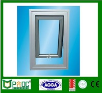 Australian standard aluminum small awning windows with AS2208 tempered glazing and AS2047 Certificates for windows PNOC0002THW