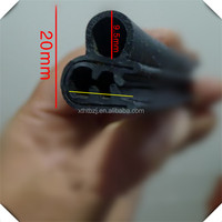 Extrusion Profile Rubber Sealing Strip Extruded epdm hard foam rubber seal
