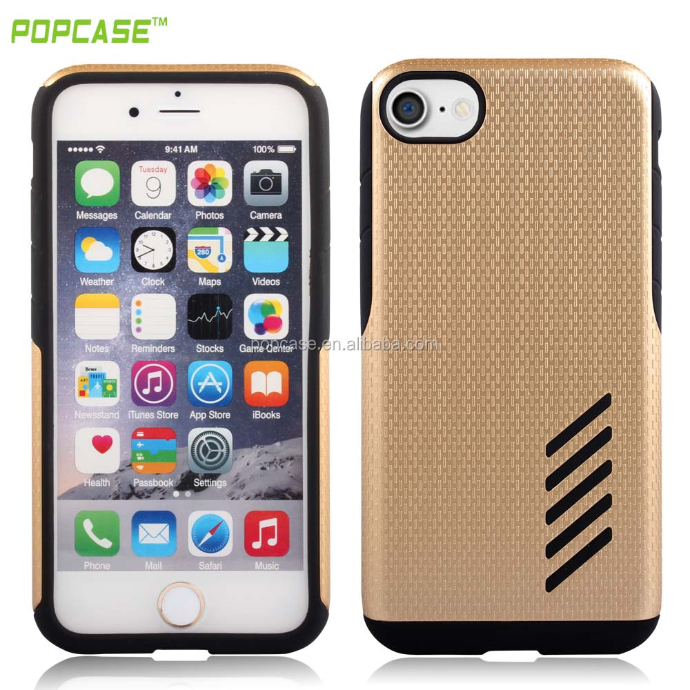 2016 Latest design Mars combo mobile phone case china suppliers PC+TPU Durable cell phone accessories for IPHONE 7