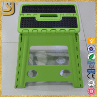 Folding Adjust Step Stool, Folding Plastic Stool
