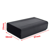 Waterproof Aluminum anodized Box with silicon seal