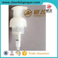 Custom soap dispenser pump 43mm plastic foam pump for bottle