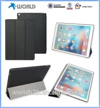 Three folder Stand Leather Smart Case for ipad pro