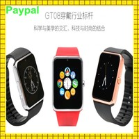 low price dual sim card watch mobile phone