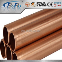 C1200 copper pipe/tube price per gram