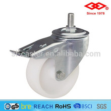 6 inch screw in locking industrial caster