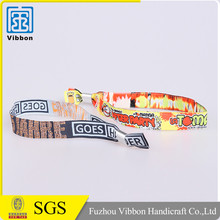 Factory supply hot sale custom made custom band wristbands