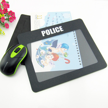 promotional photo album mouse mat with custom logo