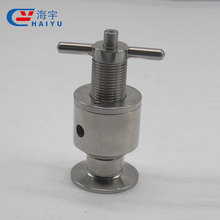 Sanitary Stainless Steel Gas Safety Valve Price