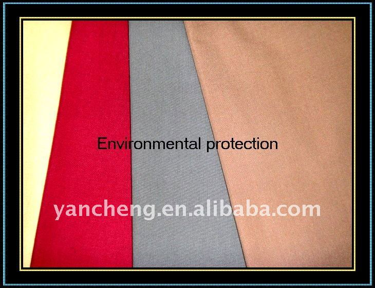 poly cotton duck fabric tc 65/35 plain dyed