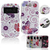 Butterfly flip full housing cases cover for samsung galaxy siii s3 i9300
