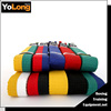 Pure cotton and high quality competition double color taekwondo belt