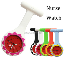 Hot Sell White Silicone Nurse Doctor Watch Jelly Quartz Nurse Watch