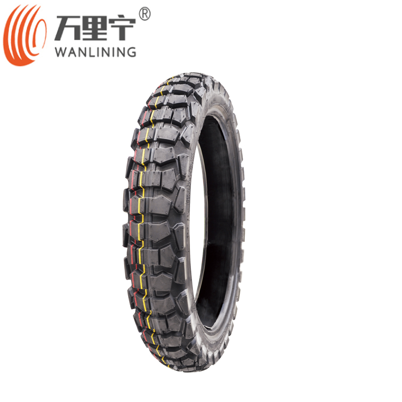 Factory price wholesale nylon tubeless motorcycle tire 2.50-16 2.75-17 2.75-18 off road tires