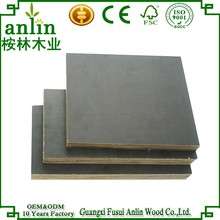 AA Grade 15mm Black Film Faced Plywood Malaysia With Factory Price